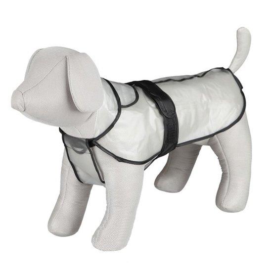 impermeable chubasquero transparente para perros