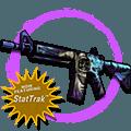 StatTrak™ M4A4 | Desolate Space (Field-Tested)