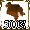500 Red Chinchompa