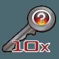 10х Unsorted CS:GO Keys