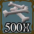 500 Dragon Bones