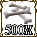 500 D Bones