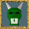 Green Hallowe'en Mask