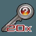 20х Unsorted CS:GO Keys