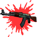 AK-47 Ι Fire Serpent (Minimal Wear)