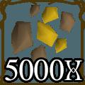 5000 Gold Ore