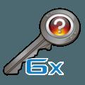 6х Unsorted CS:GO Keys