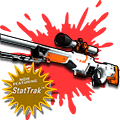 StatTrak™ AWP | Asiimov (Battle-Scarred)