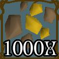 1000 Gold Ore