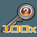 100x CS:GO Keys
