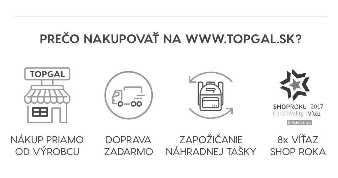 Prečo nakupovať na www.topgal.sk?