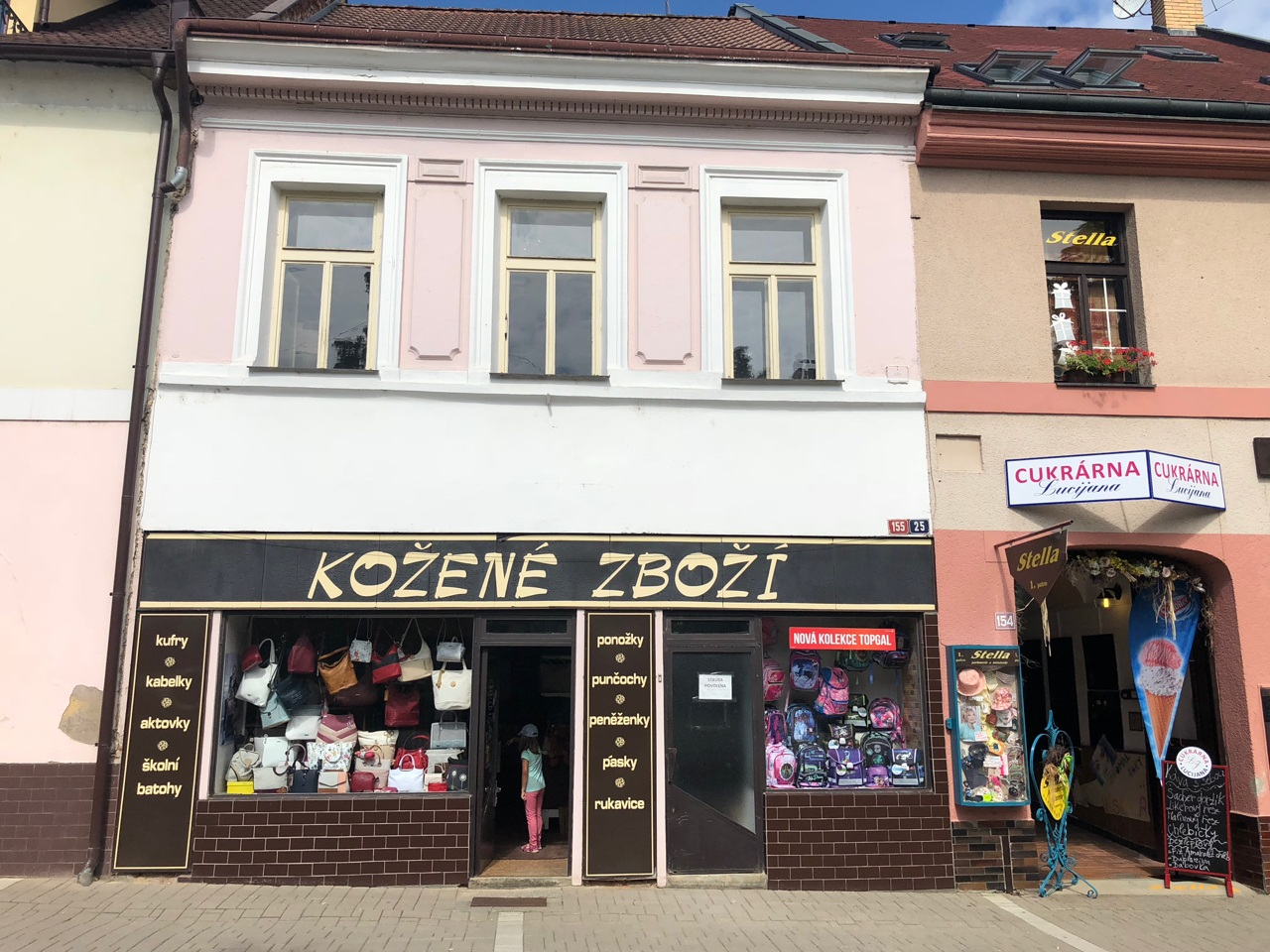 prodejna Kožené zboží, Benešov