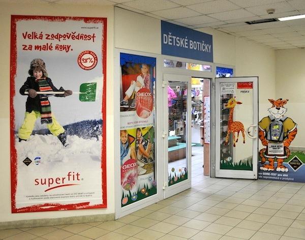 prodejna Dětské botičky MTG - Ostrava Bělský Les