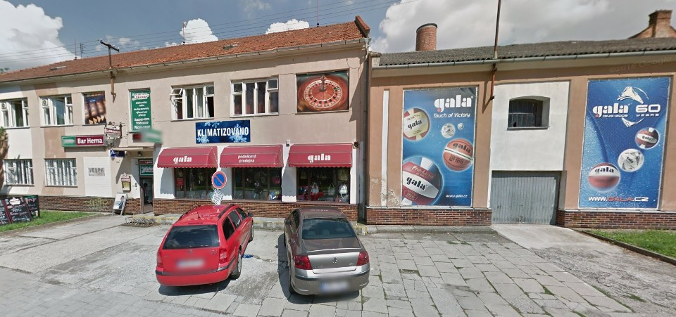 Prodejna Gala, Prostějov